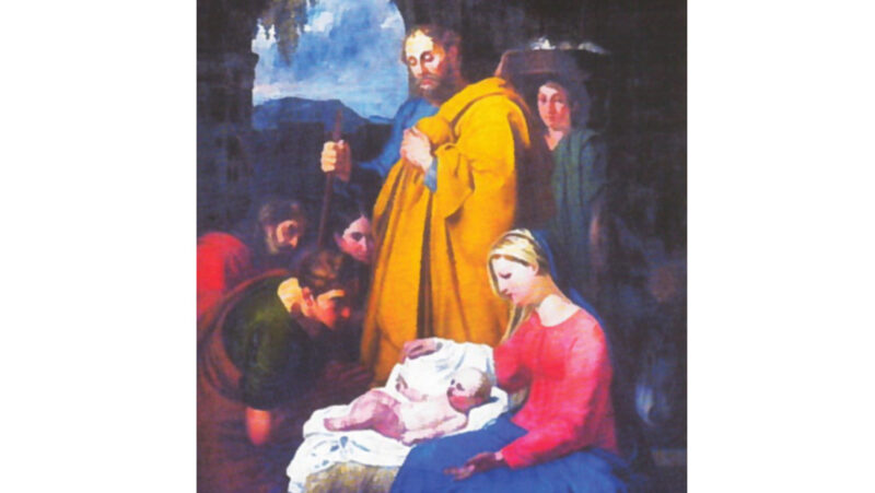 San Giuseppe con Maria e il Bambino